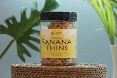 Glazed Banana Thins 200g