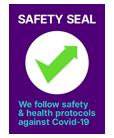 Safe Travel Stamp Safety Seal